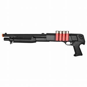 Kids Army Tactical Pump-Action Airsoft Spring Shotgun