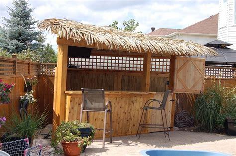 Tiki Bar Hut City by Tiki Hut Paradise Palmex