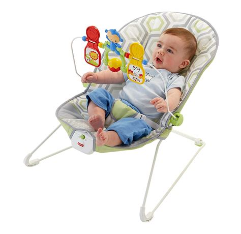 Baby Bouncer Lounger Fisherprice Gentle Vibrations