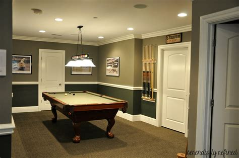 Serendipity Refined Blog Basement Make Over Reveal And My