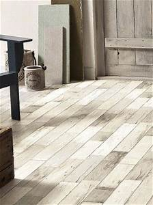 sol vinyle imitation parquet bois peint use beige primetex With sol en vinyle imitation parquet
