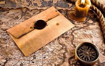 Map Antique Compass Envelope Candle Pixelstalk