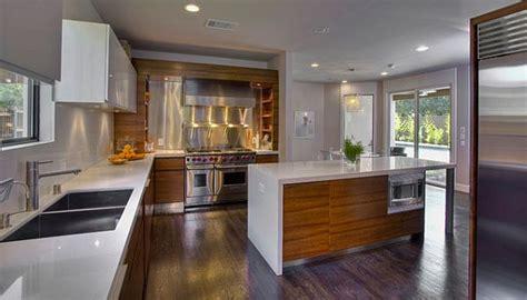 modern sleek kitchen design 10 wood types for your interior design 7769