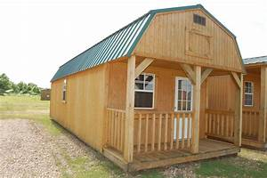 central arkansas derksen lofted barn cabin With barns and sheds for sale
