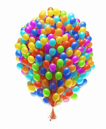 Balloons Bunch Party Clipart Birthday Balloon Congratulations