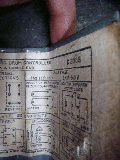 wiring  furnas drum switch
