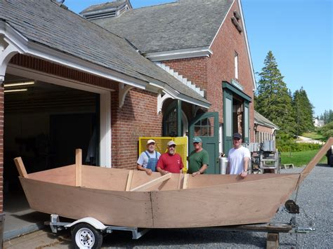 voyages  built  lumber yard skiff