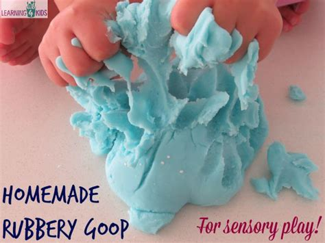 sensory projects for preschoolers rubbery goop recipe learning 4 306
