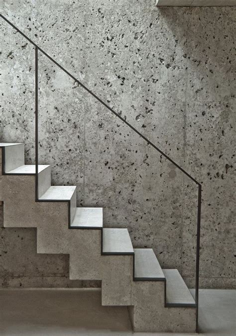 Treppenstufen Beton Innen by Concrete Stairs Residence In Munich Germany By Leonard