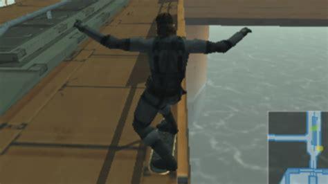Metal Gear Solid 2 Substance Snake Skateboarding