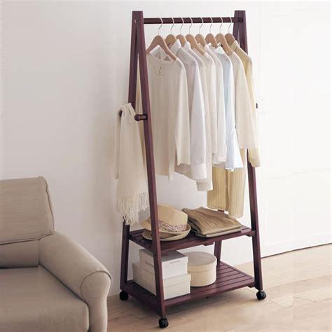 26364 clothes rack for bedroom creative home yi wood floor coat rack hanger hanger floor