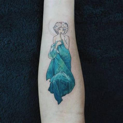 Art Nouveau Tattoo On Tumblr