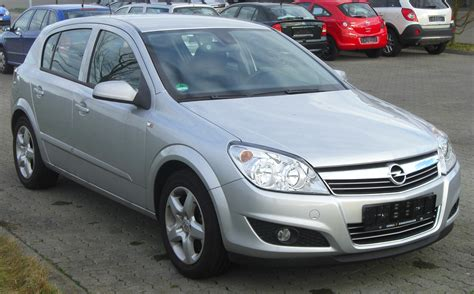 Opel Astra Facelift by File Opel Astra H Facelift 2007 2009 Front Mj Jpg