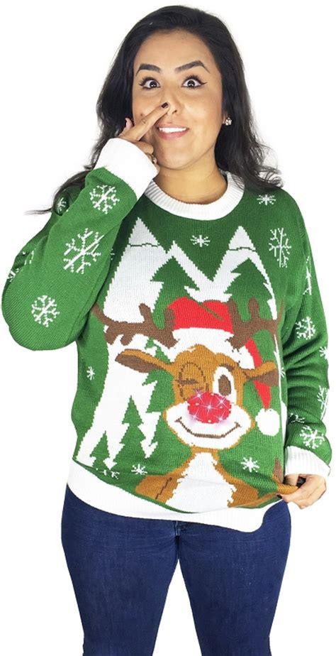 light up ugly sweater light up ugly christmas sweater hello deer stupid com