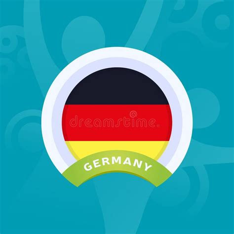 Find the perfect germany football team stock illustrations from getty images. Germany Vector Flag. European Football 2020 Tournament ...