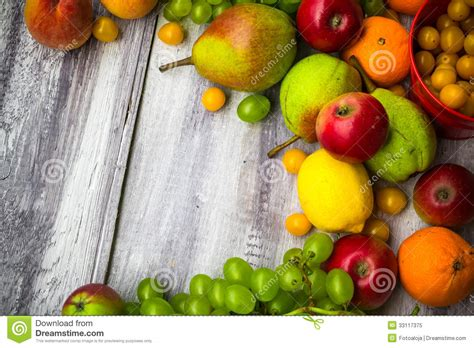 cuisine nature fruit background vintage wooden autumn food nature stock