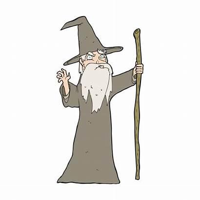 Cartoon Wizard Gandalf Depositphotos Illustrations