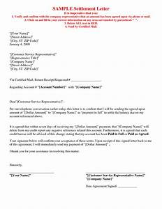 best photos of paid in full agreement letter paid in With debt negotiation letter template