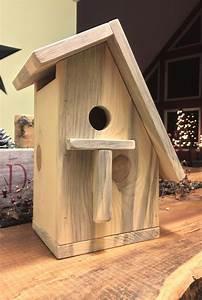 Simple, Pine, Birdhouse