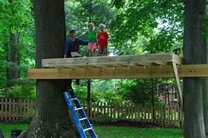 Comment Faire Une Cabane Dans Les Arbres : une cabane dans les arbres pour votre enfant ~ Melissatoandfro.com Idées de Décoration