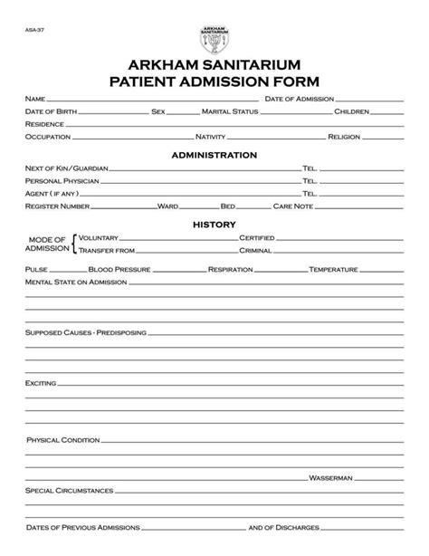 hospital admission orders template sampletemplatess