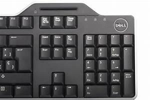 Keyboard Dell Kb813 Smartcard Spanish Layout New
