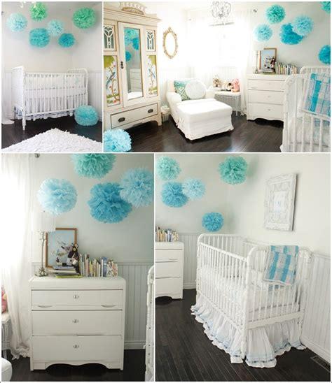 chambre bébé bleu turquoise deco chambre bebe garcon turquoise