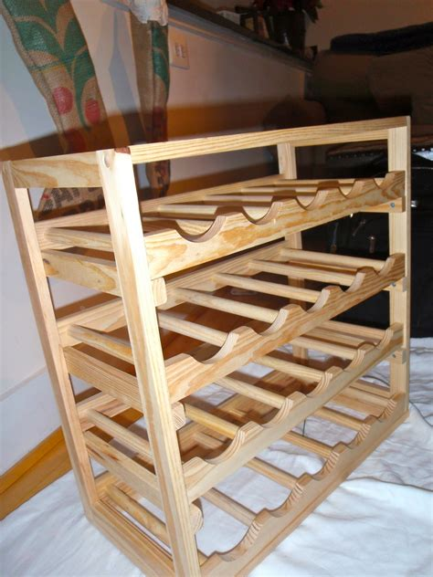 woodworking plans  guide diy wooden wine rack
