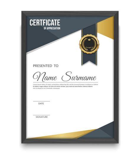 certificate design certificates templates