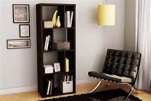 Furniture adding with unique shelving units in