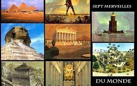 les 7 merveilles du monde antique inexpliqu 201 en d 201 bat