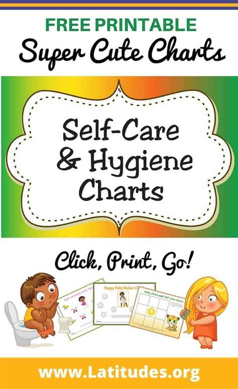 printable  care hygiene charts  kids acn