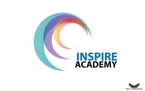 logo crescent inspire academy vector