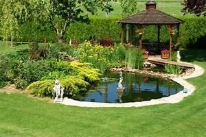 Dessiner Son Jardin : lagos y piscinas naturales para el jard n ~ Melissatoandfro.com Idées de Décoration