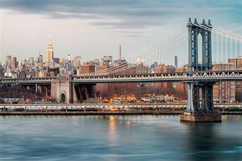 Photographie Manhattan Bridge Skyline, Jörg Dickmann
