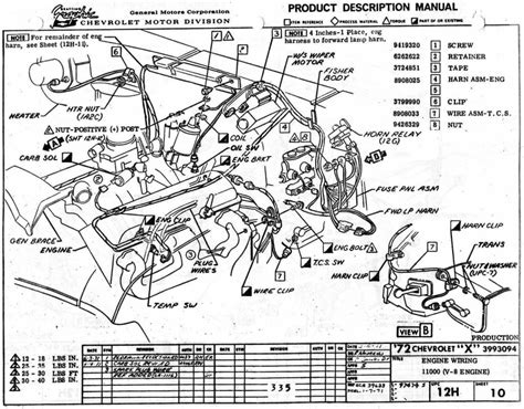 1970 Chevy Starter Wiring by 5 Best Images Of 1970 Chevy Chevelle Wiring Diagram