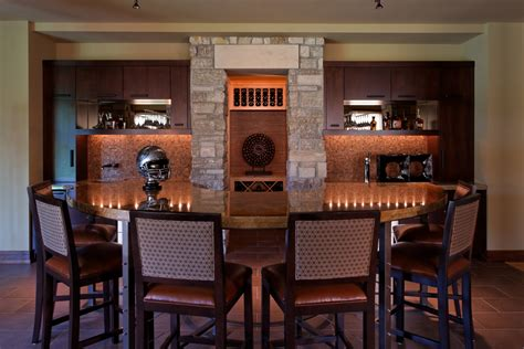 Custom Built Home Bars by Your Custom Built Entertainment Room Curt Hofer