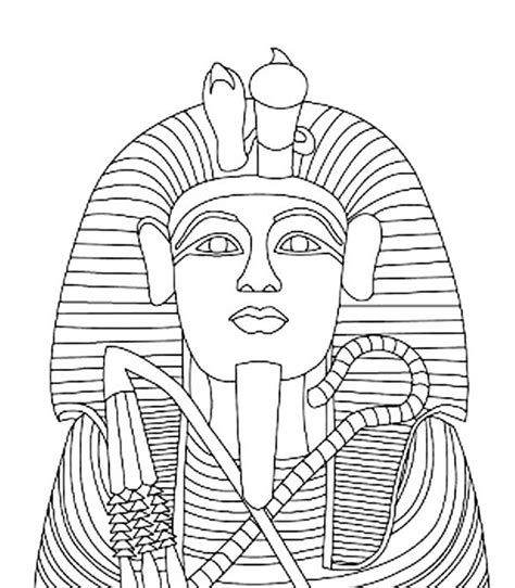 Egyptian Mummy Coloring Pages at GetDrawings | Free download
