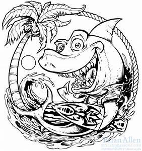 Surfboard Cartoon Drawing At Getdrawings