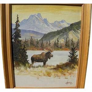 ELLEN HENNE GOODALE 1915 1991 Alaskan Art Landscape
