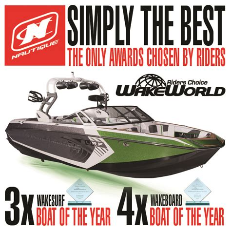 Wakeboard Boat Of The Year by Air Nautique G23 Wins 3x Wakesurf And 4x Wakeboard