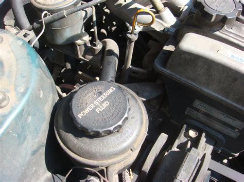 check  fill power steering fluid