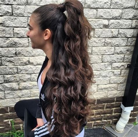 easy hairstyles  long thick hair hairstyle  women