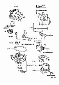 Toyota Celica Ignition Coil  Cnd  Usa  Distributor