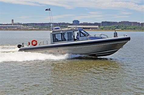 Jet Boat Guyana by 38 Defiant Metal Shark