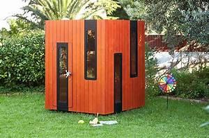 Cabane En Bois Pour Enfant : cabane en bois pour enfant hobikken mini smartplayhouse ~ Dailycaller-alerts.com Idées de Décoration