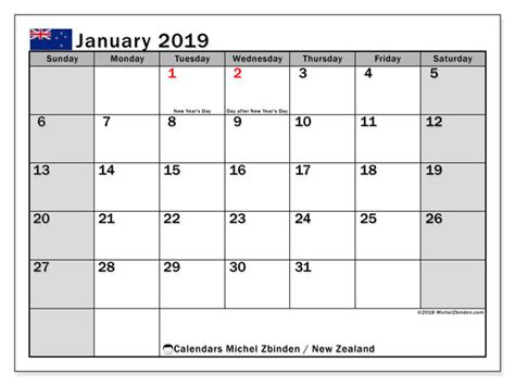 calendar january zealand michel zbinden en
