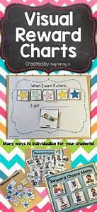 Preschool Chore Chart Visual Reward Choice Menu Charts Preschool Behavior