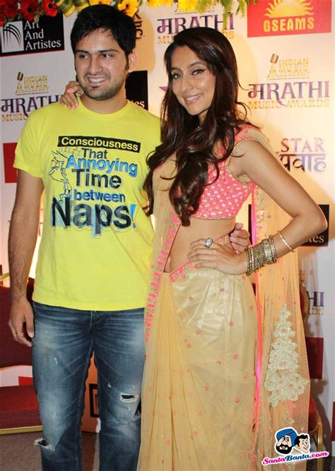ima marathi  awards press meet siddharth chandekar  anusha dandekar picture
