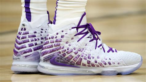 lebron james nike lebron  white purple  lebron